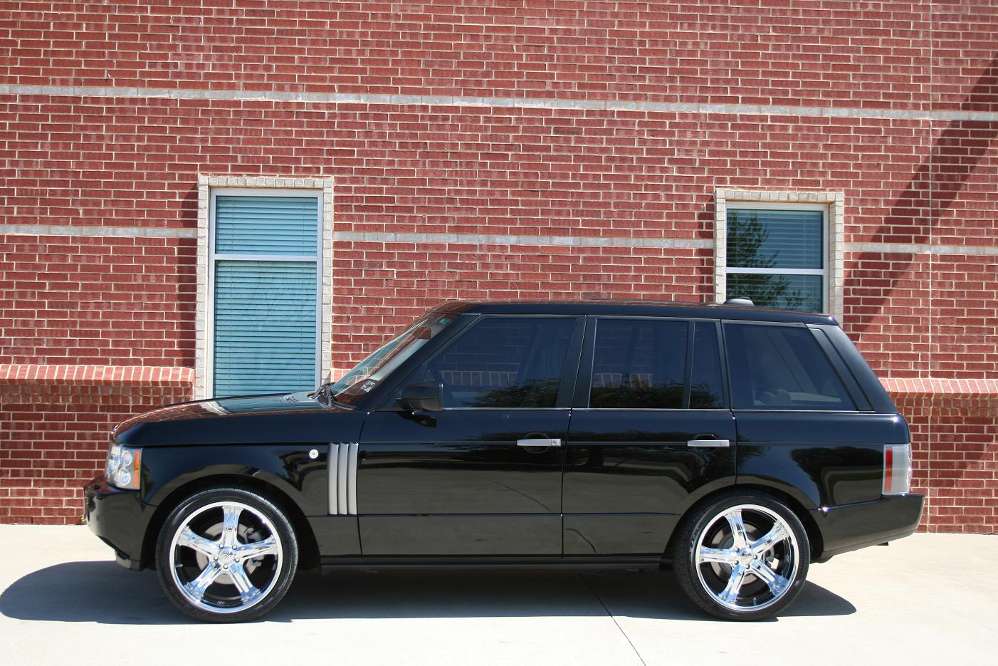 22 Quot Cec 856 Chrome On 08 Range Rover Hse