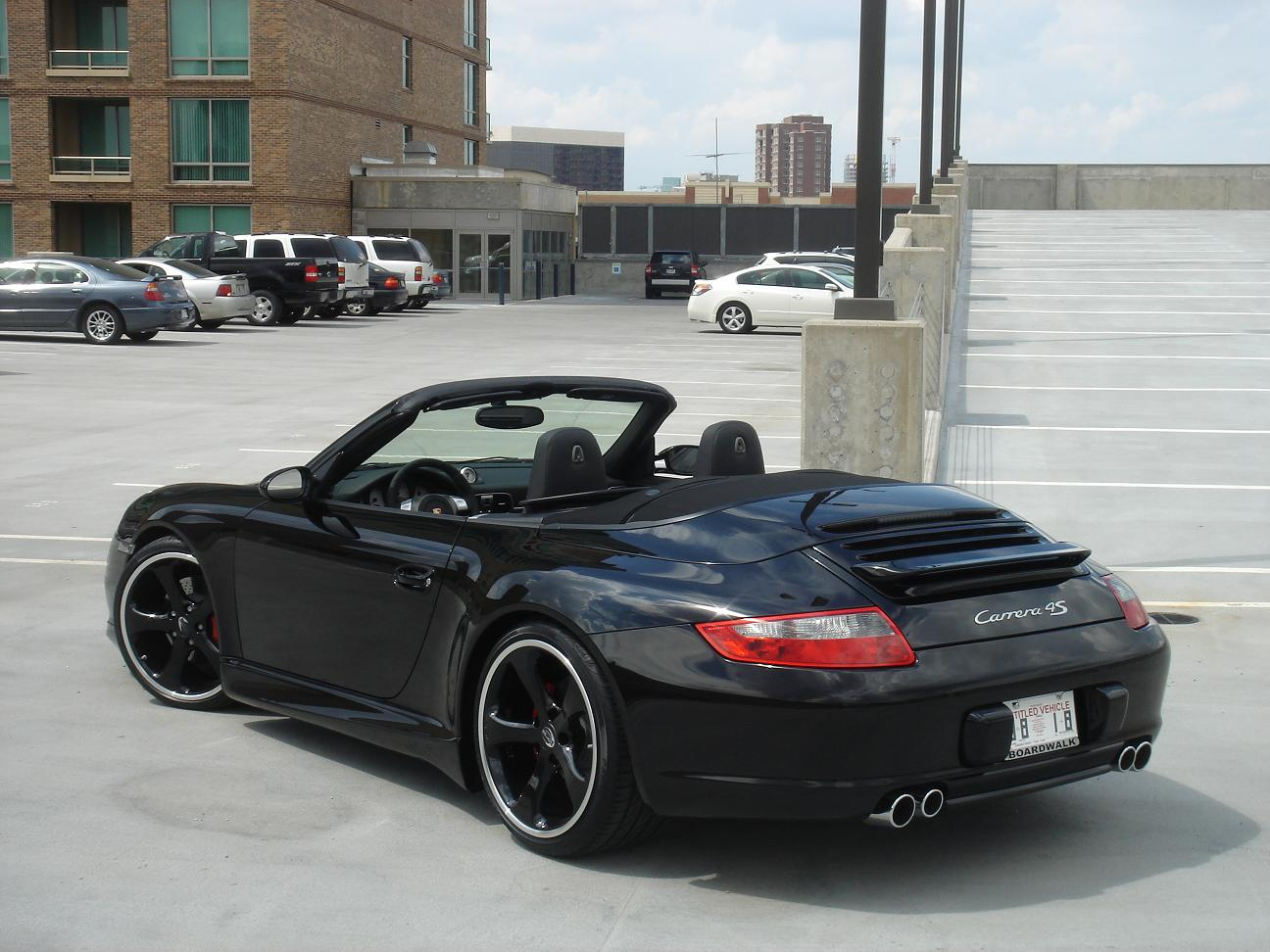 Our New Company Car 997 C4s Cab Triple Blk