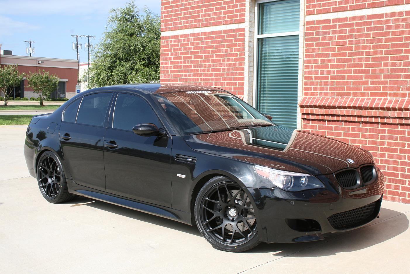 Black E60 W Black Wheels In San Antonio Bmw M5 Forum And M6 Forums