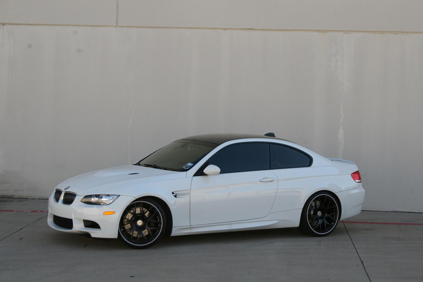 20 Quot Hre P40 Matte Black With Aw Pinstripe On Aw E92 M3