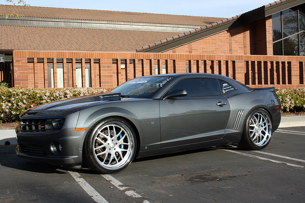 2010 Camaro Ss Rs With 22 Quot Modulare H1 Brushed Better