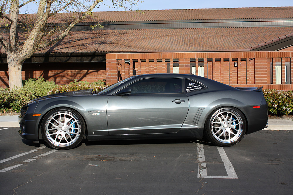 2010 camaro ss rs with 22 modulare h1 brushed better. Black Bedroom Furniture Sets. Home Design Ideas
