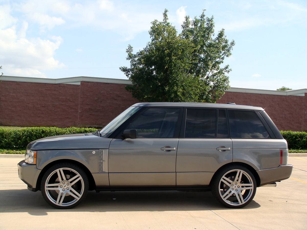 Range Rover Supercharged On 23 Quot Modulare B11 In Silver