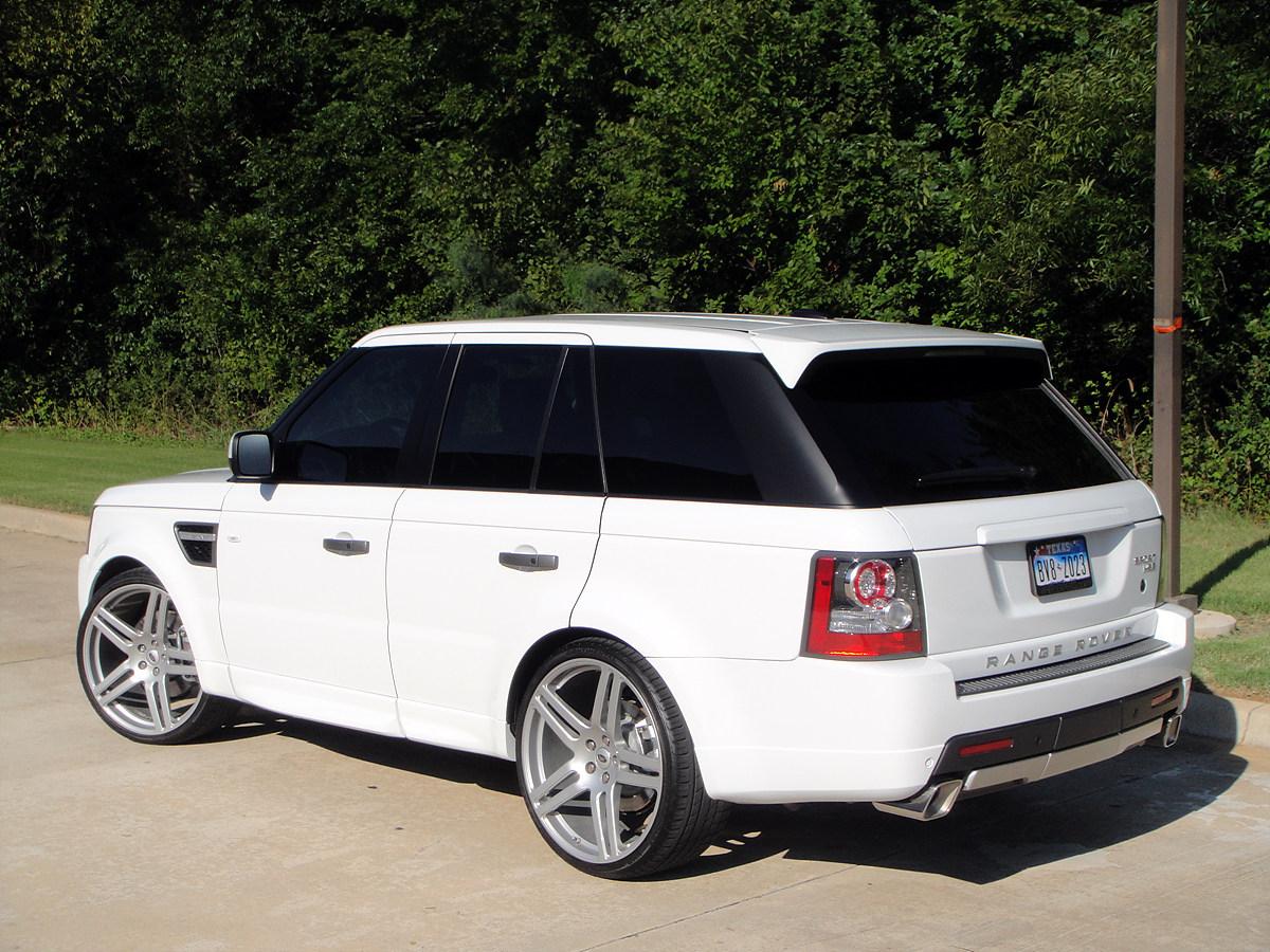 "Land Rover Dallas >> 2011 Range Rover Sport GT | 23"" Modulare B11 silver"
