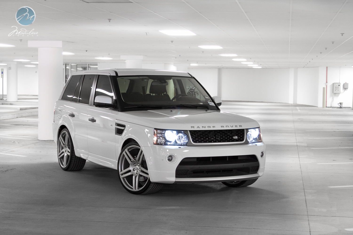 "Range Rover Dallas >> Professional shoot of 2011 Range Rover Sport GT with 23"" Modulare B11 monoblock - DFW Auto Club ..."