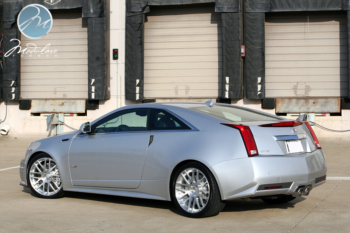 2011 Cadillac Cts V Coupe On 20 Quot Modulare B14 Brushed