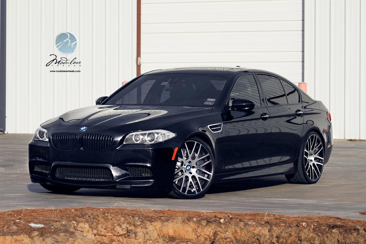 "Modulare Wheels | 2013 BMW M5 F10 | 21"" Modulare B14 ..."