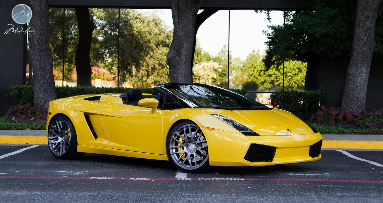 Modulare Wheels Lamborghini Gallardo Spyder 20 Modulare B14