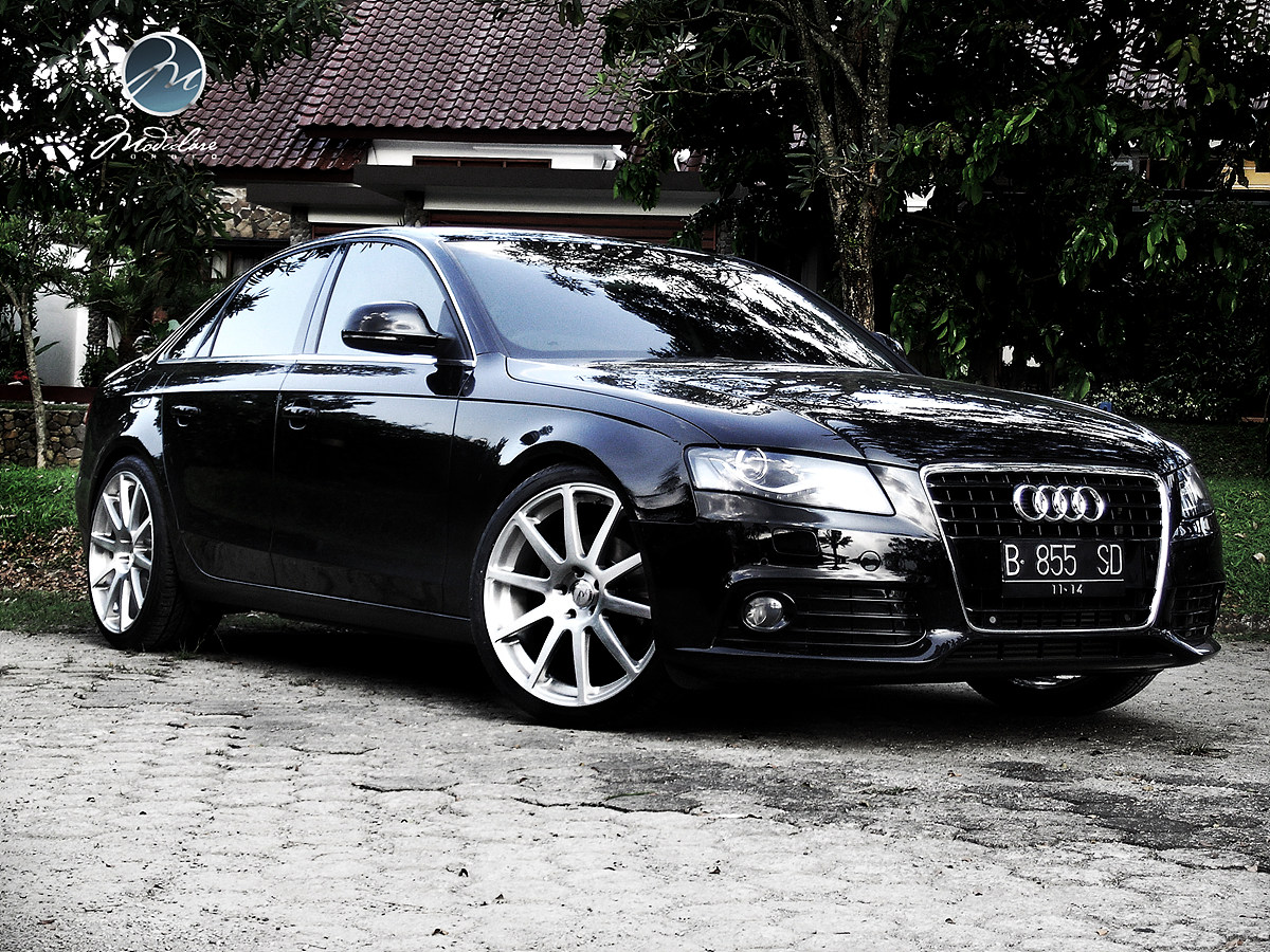 2010 Audi A4 B8 On 20 Quot Modulare B15 Monoblock In Brushed