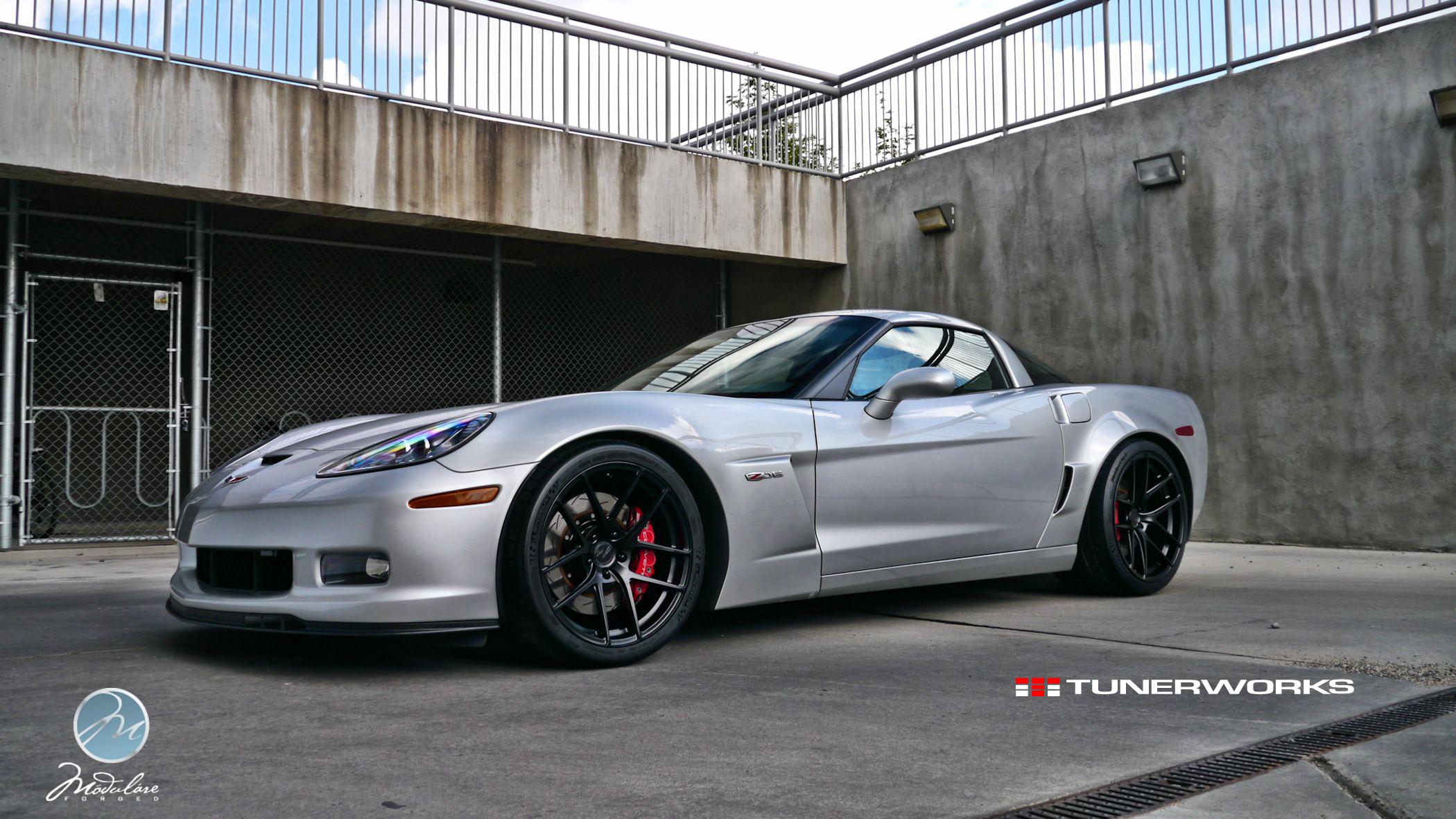 Modulare Wheels Tunerworks Performance Corvette C6 Z06