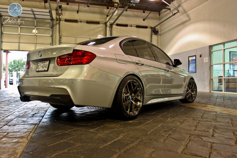 Porsche West Houston >> Modulare Wheels + BMW of Houston North | 2012 BMW F30 + 19 ...
