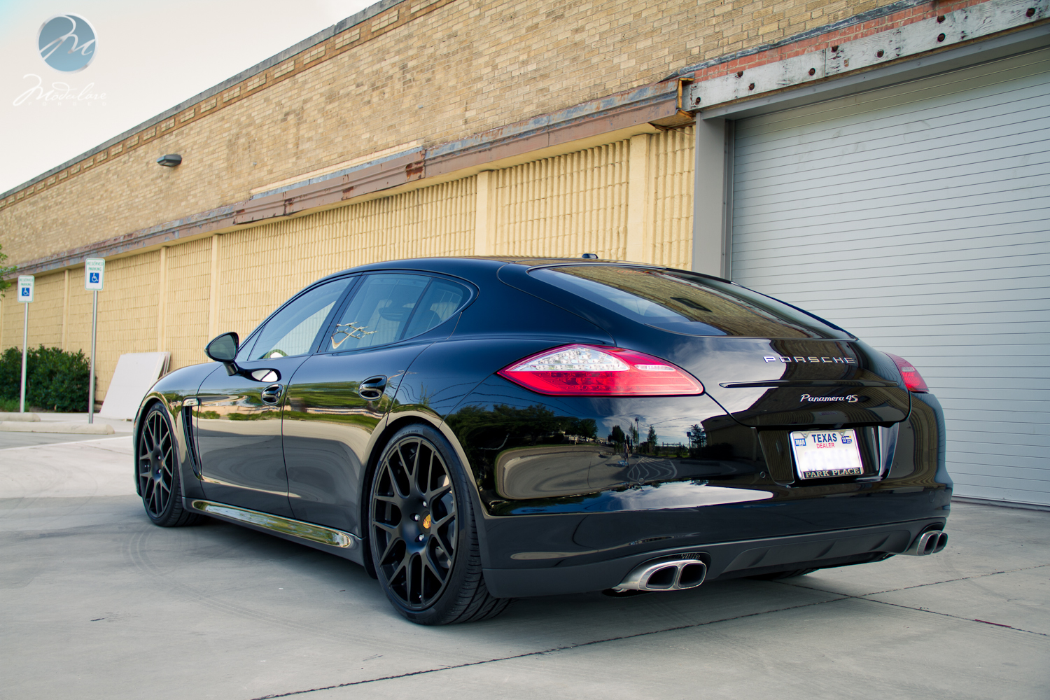 Modulare Wheels 2012 Porsche Panamera 4s 22 Modulare B1 Satin Black 6speedonline Porsche Forum And Luxury Car Resource