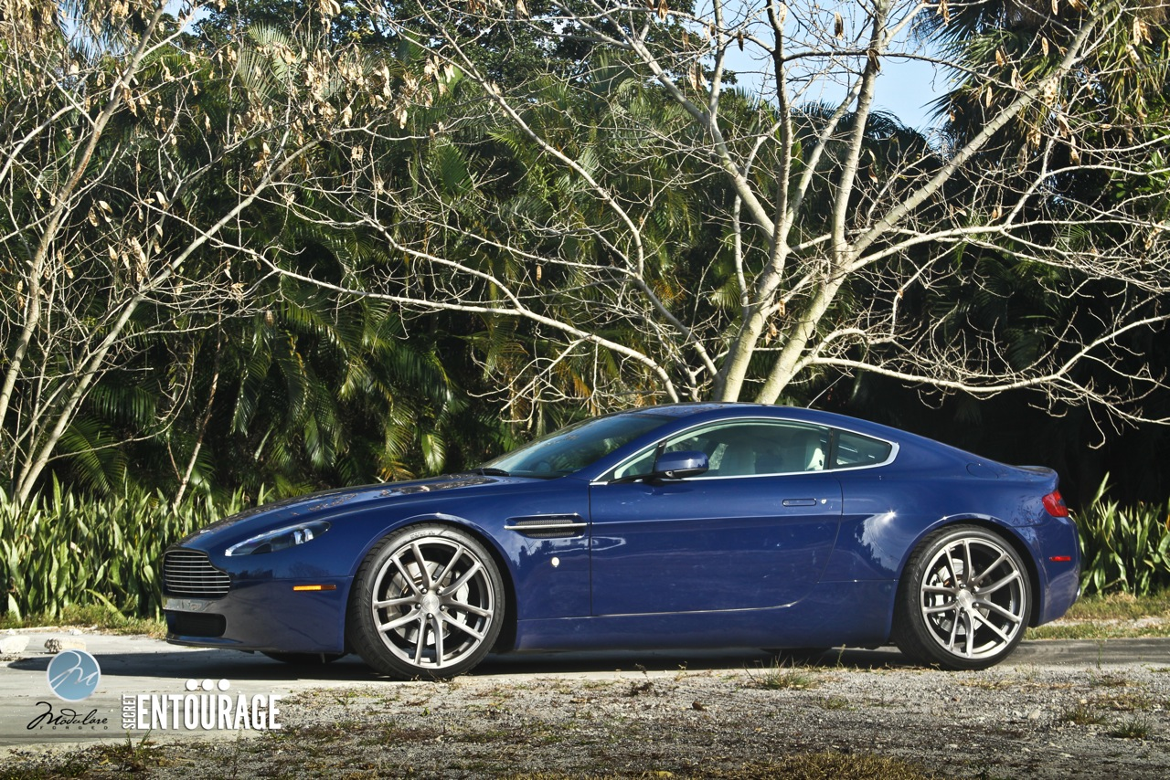 Modulare Wheels + Secret Entourage | Project Aston Martin ...