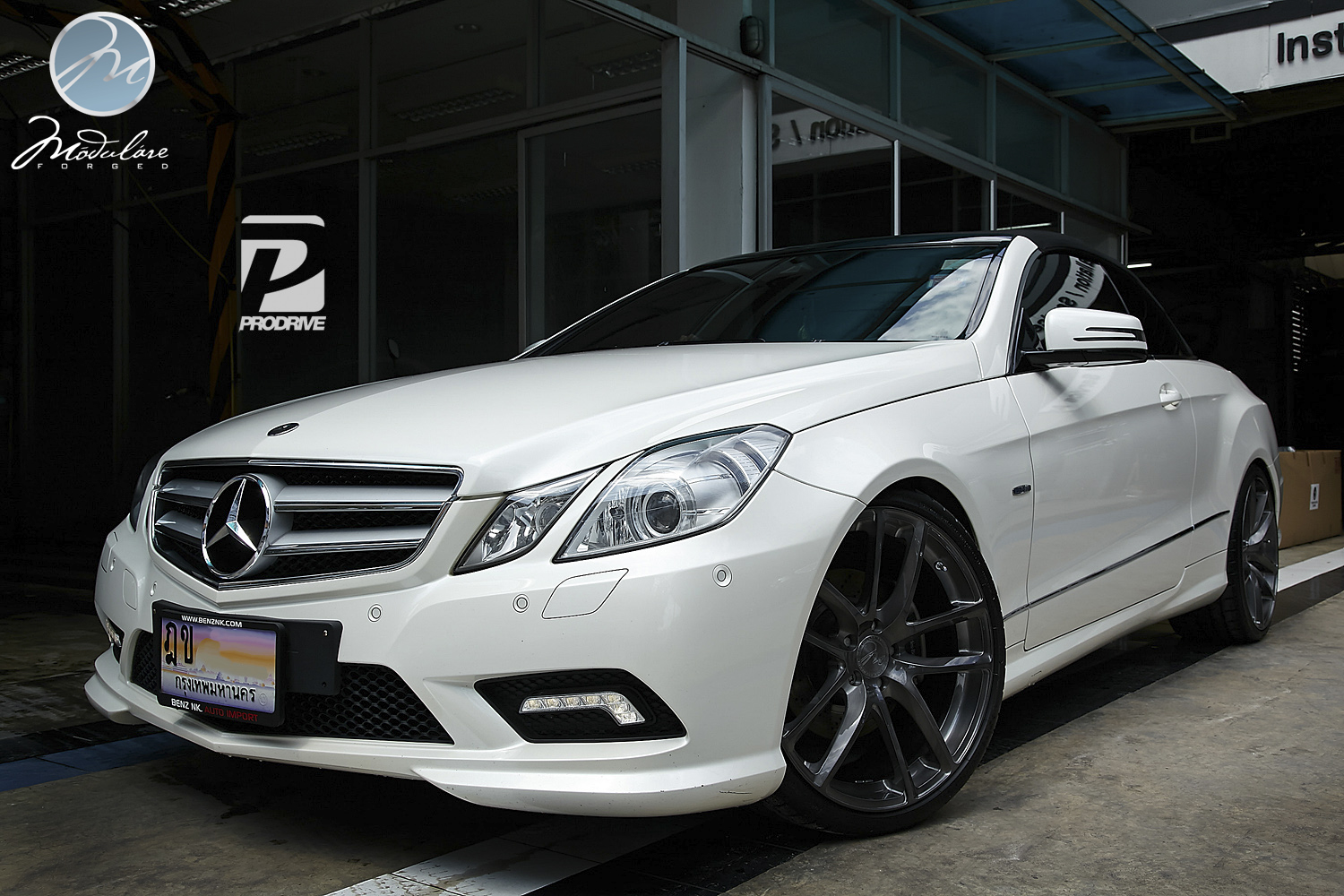 Modulare wheels prodrive shop mercedes benz w207 for Mercedes benz shop