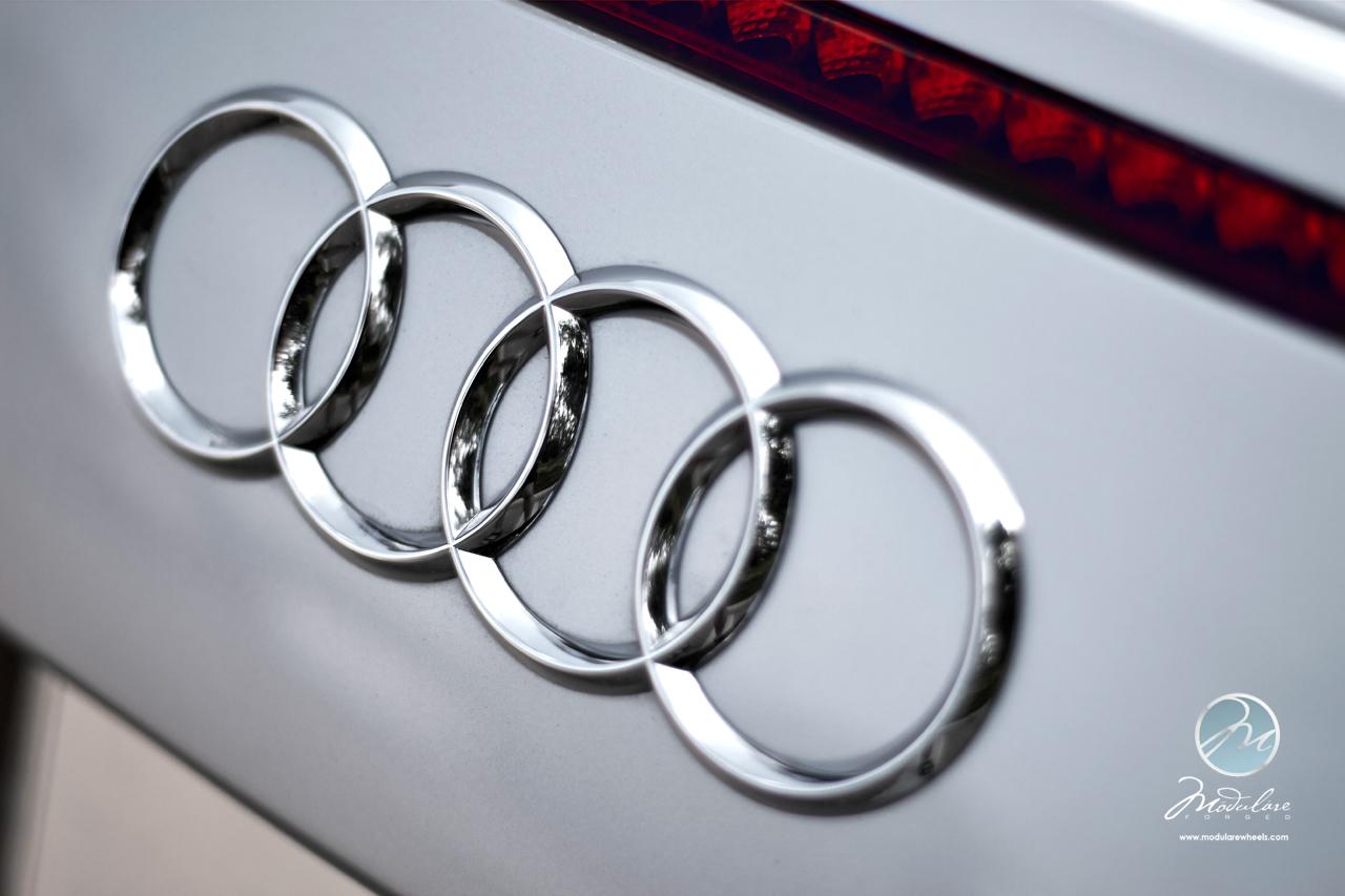 Modulare Wheels + Autodynamica Performance   Audi R8 V10 Spyder   20 ...