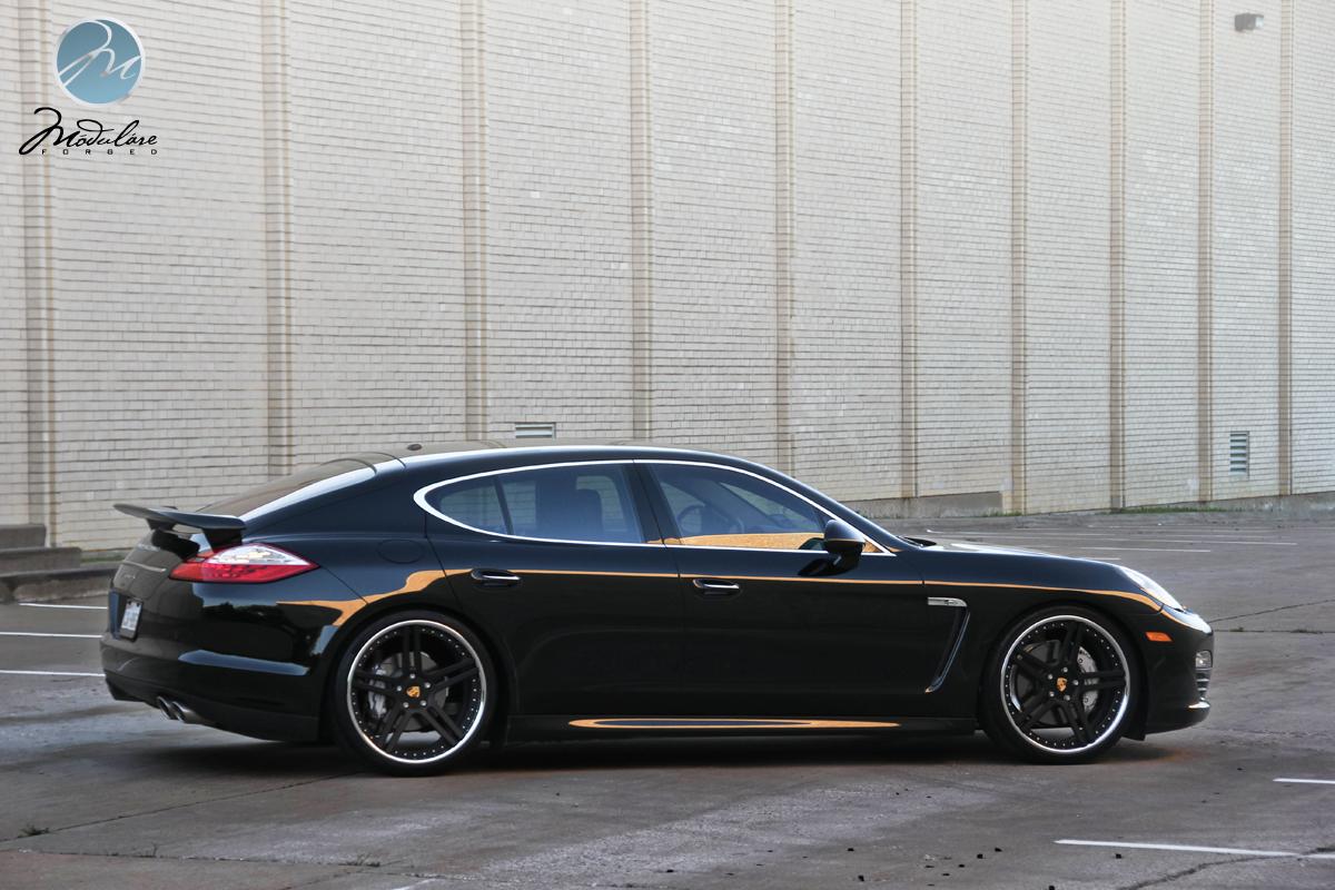 Modulare Wheels Photoshoot Porsche Panamera S 22