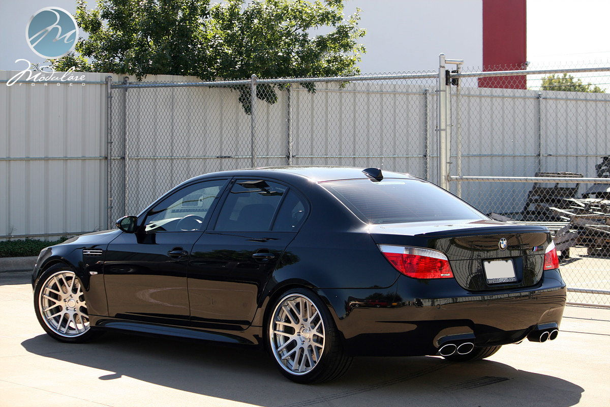 Bmw E60 M5 On 20 Quot Modulare C14 Brushed 6speedonline