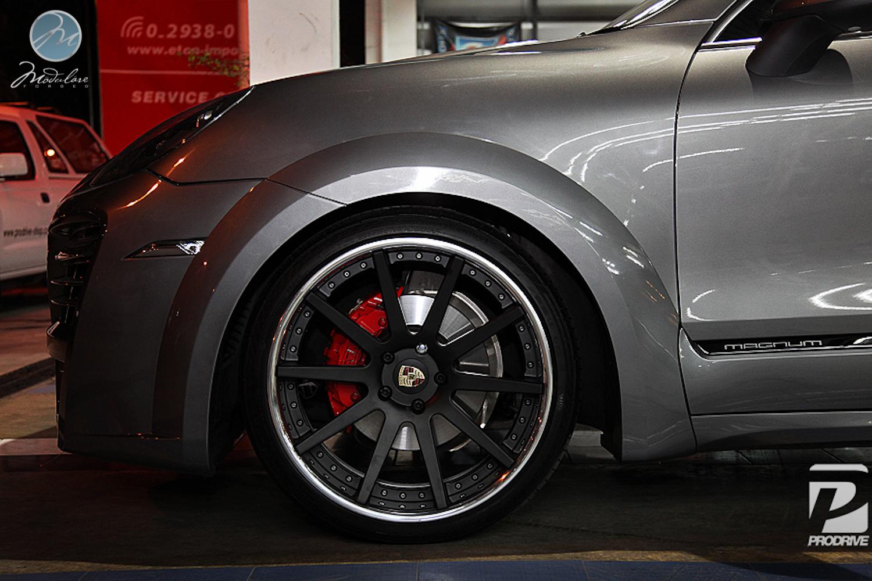 Modulare Wheels Porsche Cayenne Techart Magnum 22