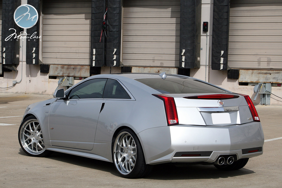 2011 cadillac cts v coupe on 21 quot modulare h1 brushed 6speedonline porsche forum and luxury