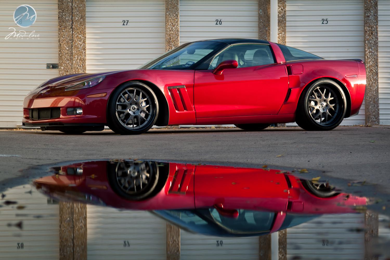 Photoshoot Corvette Grand Sport 20 Quot Modulare H1 Tinted