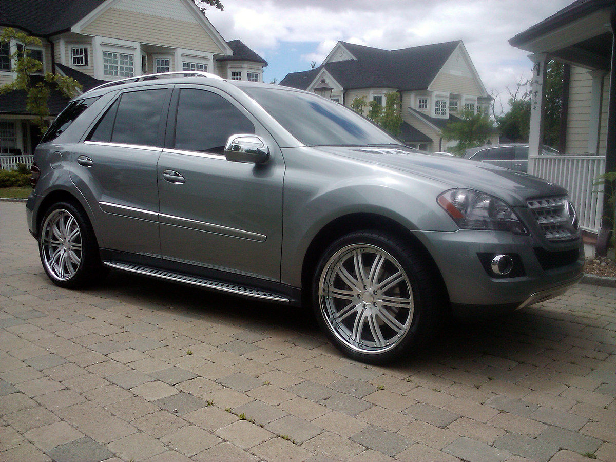 2010 Mbz Ml350 With 22 Quot Modulare M13 Brushed