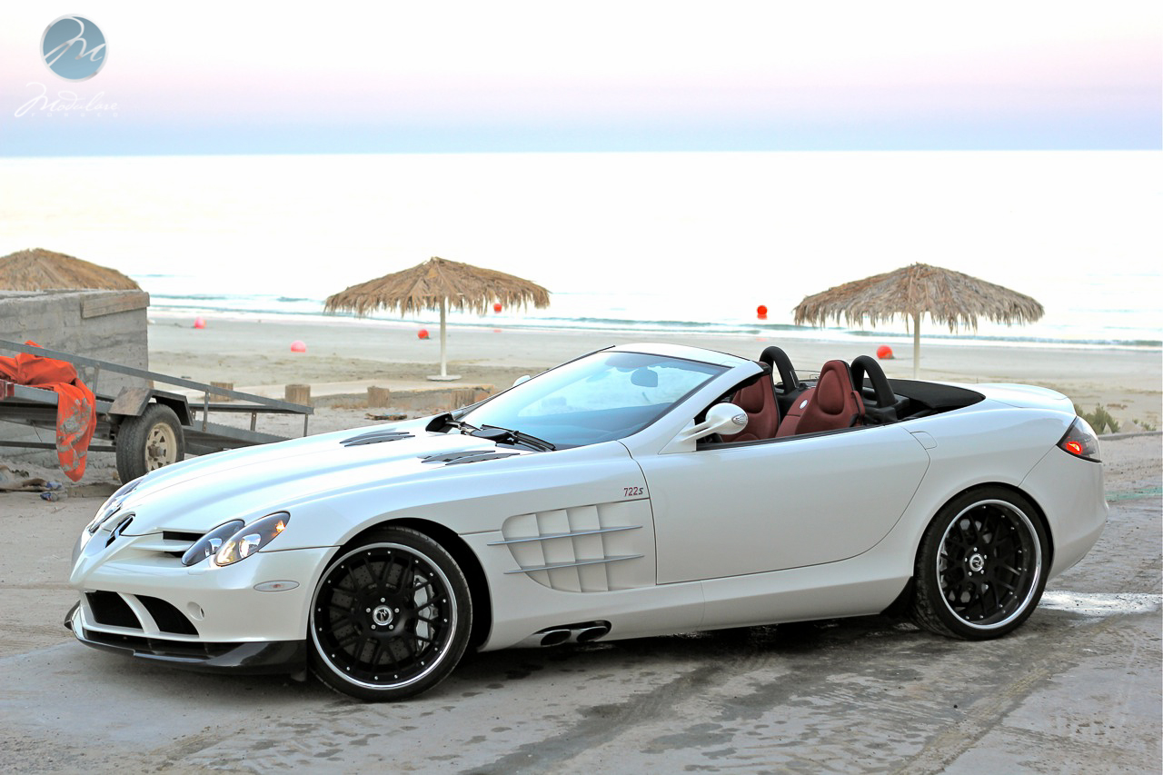 From Kuwait Mclaren Slr 722 Roadster With 20 Quot Modulare