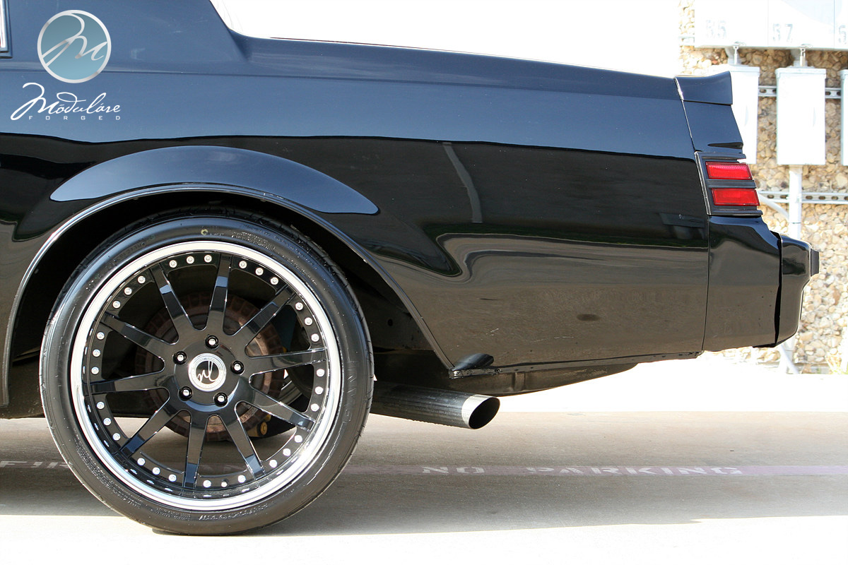 New Wheels Installed On The Grand National 19 Quot Modulare
