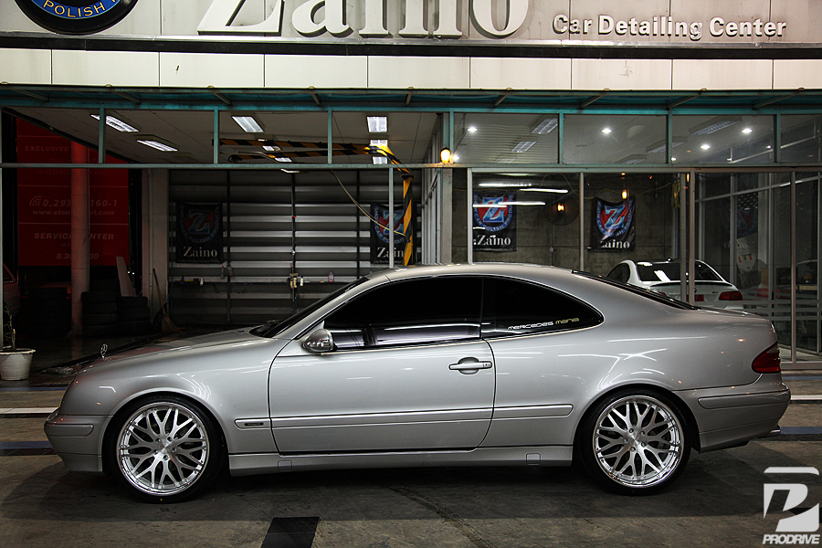 Mbz Clk W208 With 19 Quot Modulare M19 Brushed Teamspeed Com