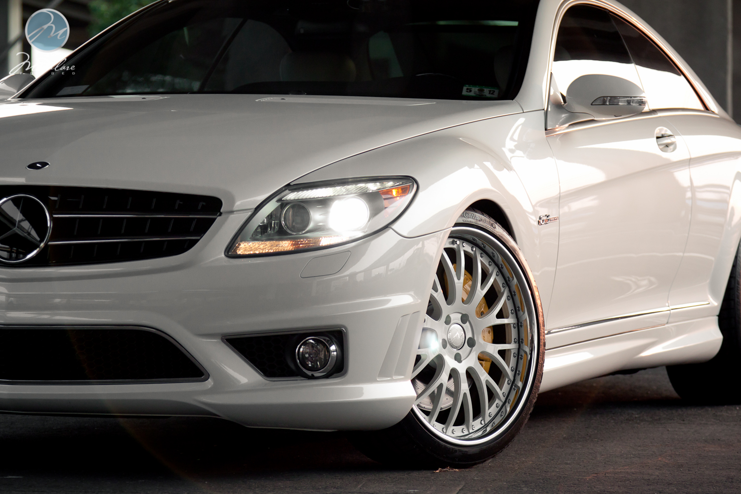 Professional shoot 2009 mbz cl63 amg with 21 modulare for 2009 mercedes benz cl63 amg