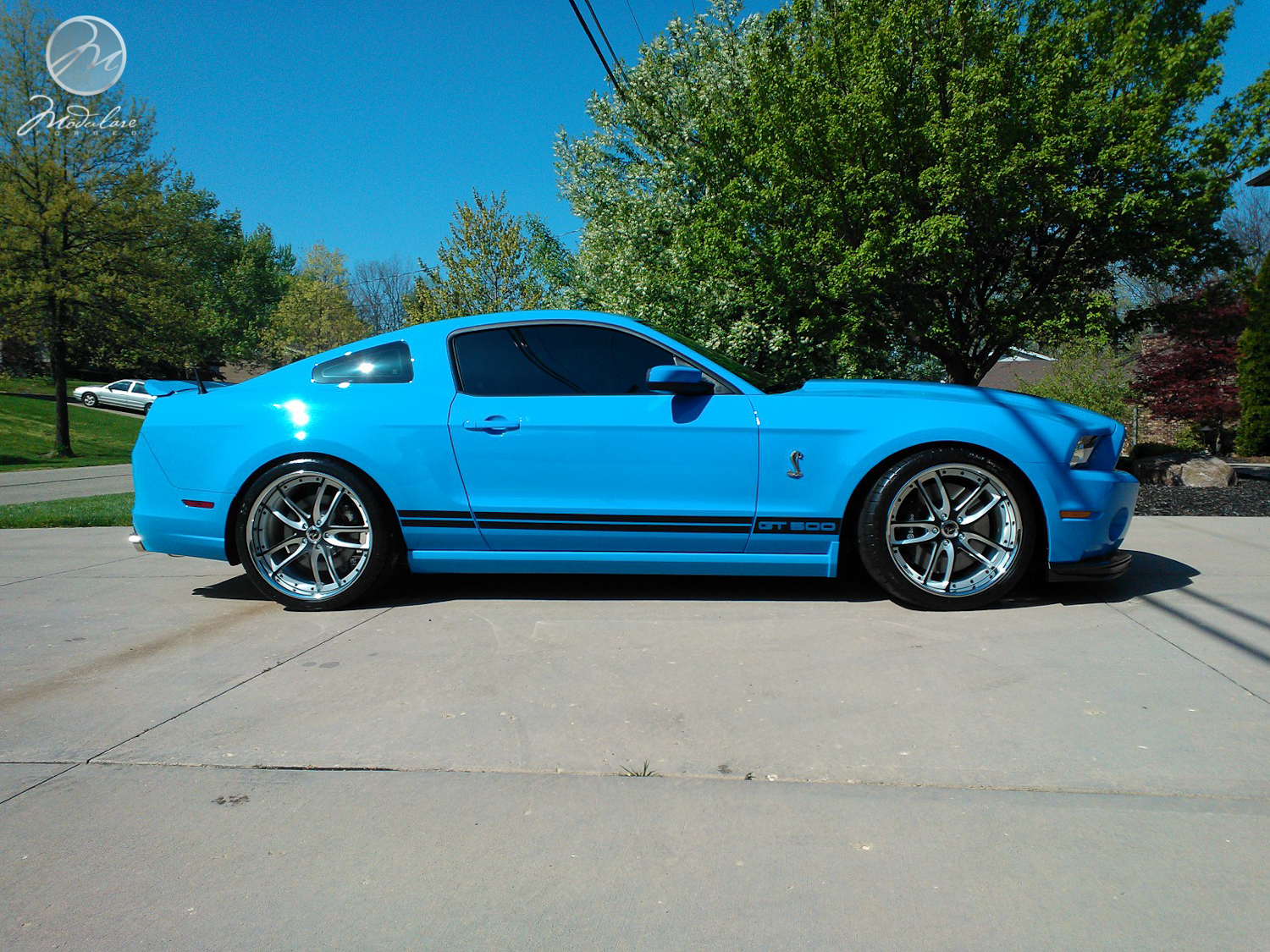 Modulare Wheels 2013 Shelby GT500