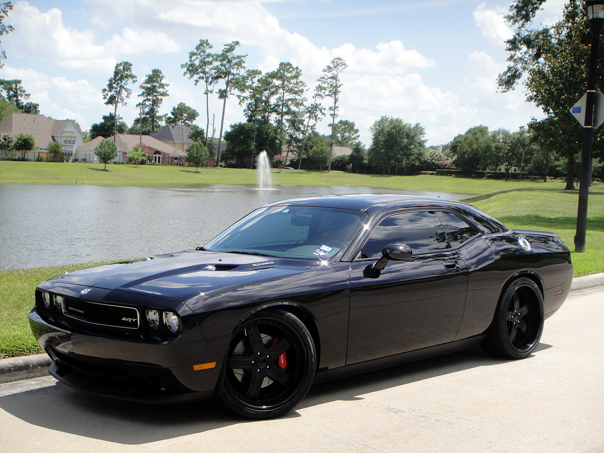 "2013 Challenger Interior >> Challenger SRT8 with 22"" MODULARE M7 wheels blacked out - 6SpeedOnline - Porsche Forum and ..."