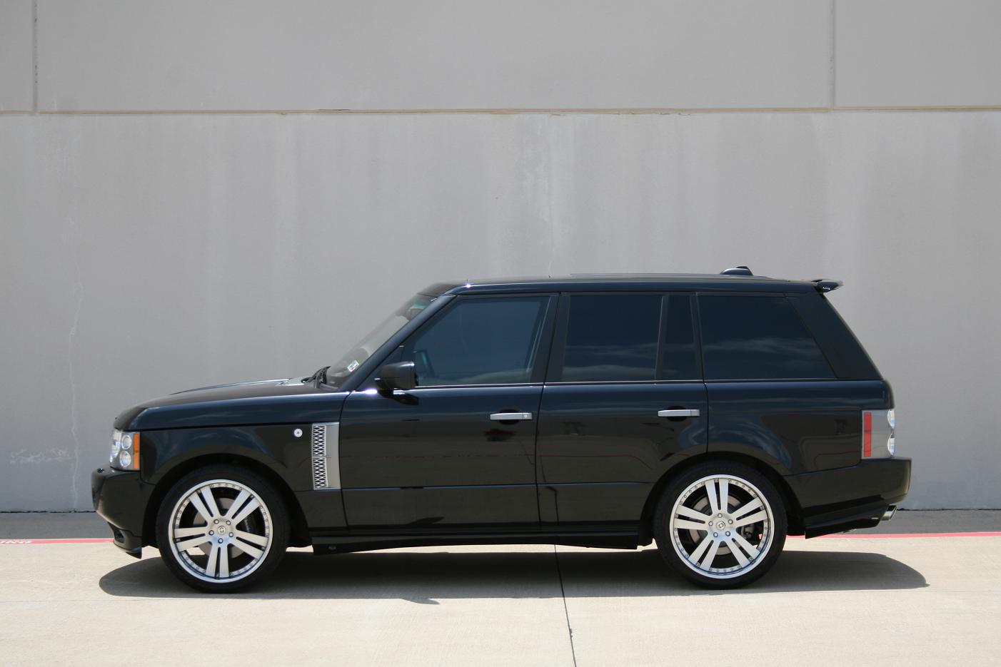 2008 range rover supercharged with 22 hre 947r and overfinch kit 6speedonline porsche forum. Black Bedroom Furniture Sets. Home Design Ideas