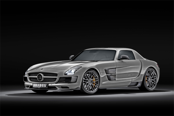 BRABUS 700 Biturbo Based on the Mercedes SLS AMG 01