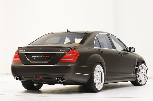BRABUS 800 Based on the Mercedes S-Class 02