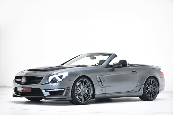 BRABUS 800 Roadster based on the Mercedes SL 65 AMG 01