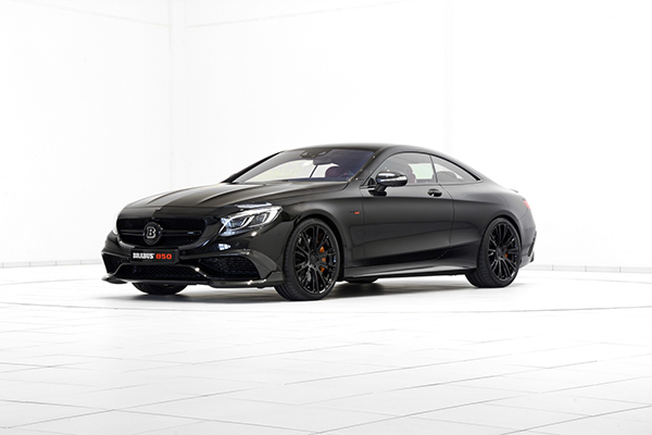 BRABUS 850 Biturbo Coupé based on the Mercedes S 63 1