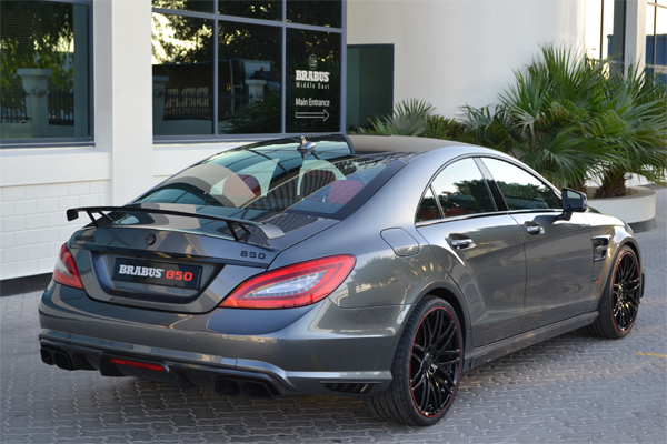 BRABUS 850 Biturbo based on the Mercedes CLS 63 AMG 02