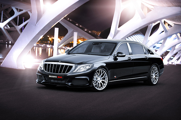 BRABUS 900 based on the new Mercedes-Maybach 1