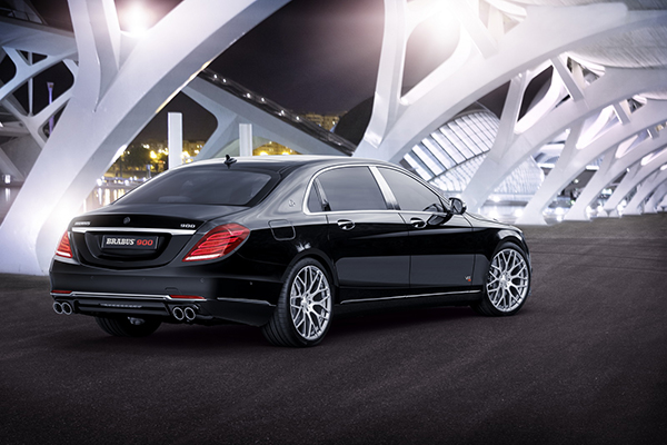 BRABUS 900 based on the new Mercedes-Maybach 2
