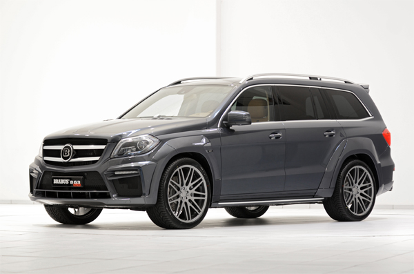 BRABUS B63 620 WIDESTAR based on the Mercedes GL 63 AMG 01
