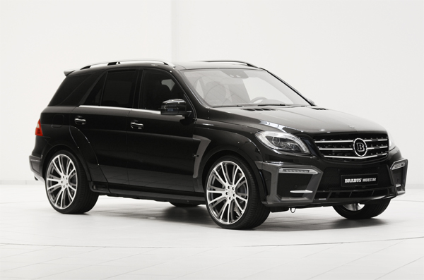 BRABUS B63 620 WIDESTAR based on the Mercedes ML 63 AMG 01