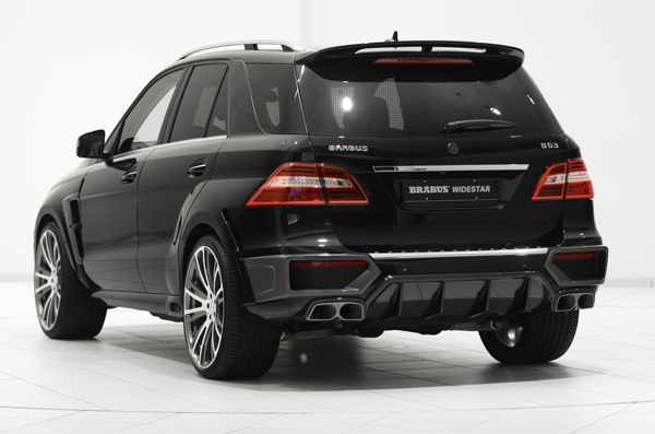 BRABUS B63 620 WIDESTAR based on the Mercedes ML 63 AMG 02
