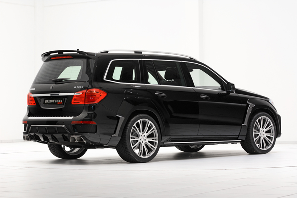 BRABUS B63S 700 WIDESTAR based on the Mercedes GL 63 AMG 02