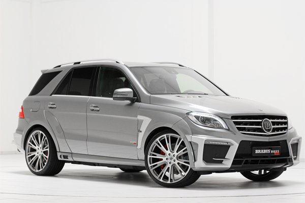 BRABUS B63S 700 WIDESTAR based on the Mercedes ML 63 AMG 01