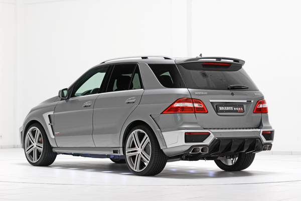 BRABUS B63S 700 WIDESTAR based on the Mercedes ML 63 AMG 02