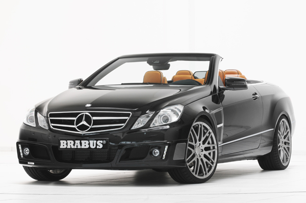 BRABUS Program for the E-Class Cabriolet 01