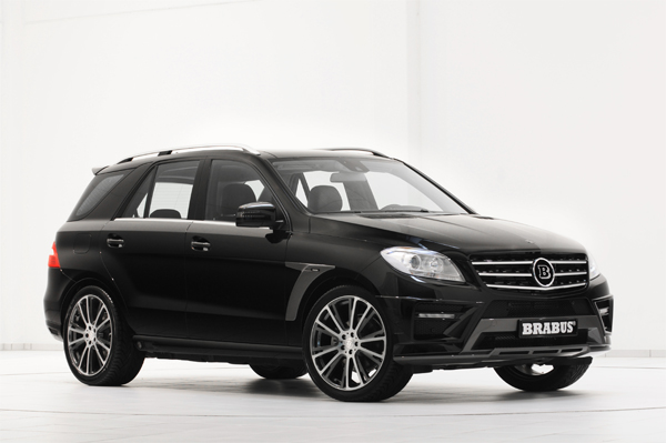 BRABUS Program for the Mercedes M-Class W 166 01