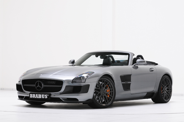 BRABUS Program for the Mercedes SLS AMG Roadster 01