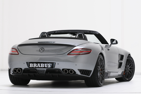 BRABUS Program for the Mercedes SLS AMG Roadster 02