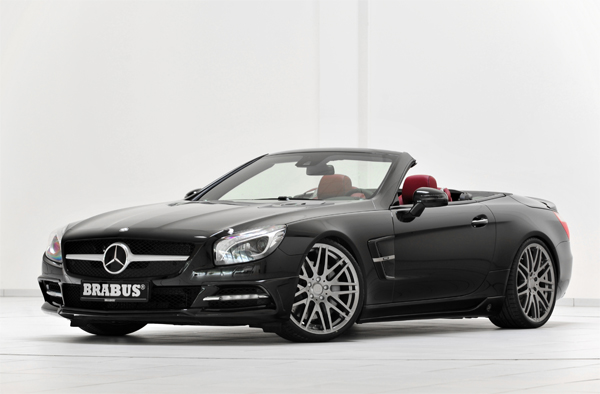 BRABUS Program for the new Mercedes SL-Class with standard bodystyling 01